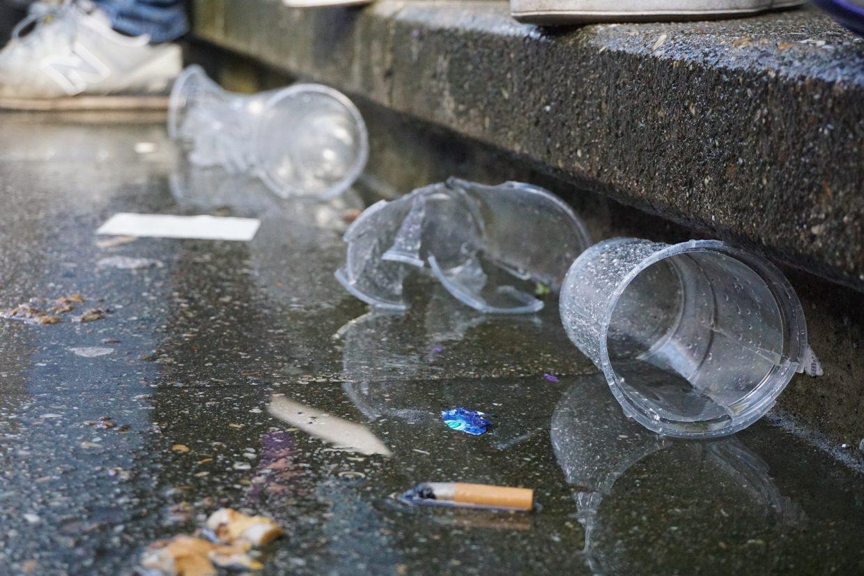 Müll in den Kurven – Unnötig und zu ändern – Foto: VioletCrew