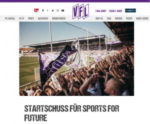 VFL schließt sich SPORTS FOR FUTURE an