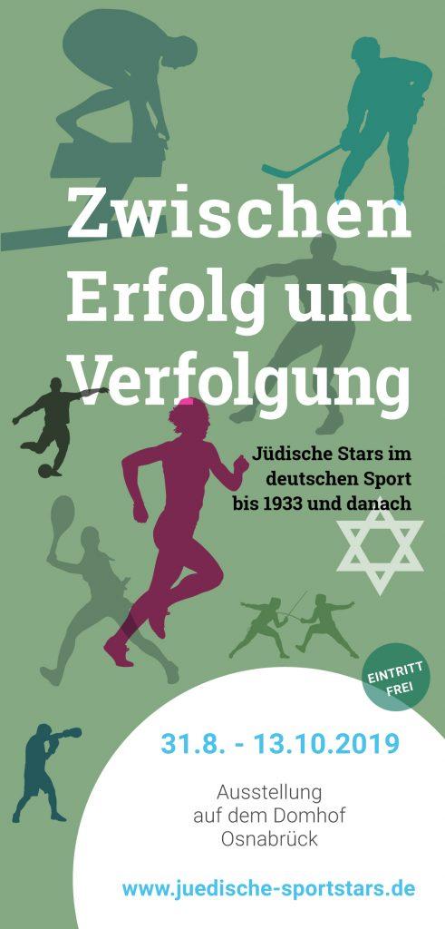 """Vom 31. August bis zum 13. Oktober findet im Diözesanmuseum Osnabrück eine Wanderausstellung statt über die """"jüdische Geschichte des deutschen Sports"""""""