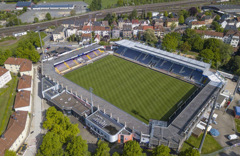 Das VFL Stadion Bremer Brücke Osnabrück. Foto: Andre Havergo